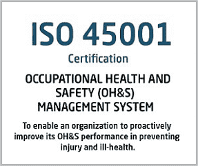 ISO 45001 Certification Oman